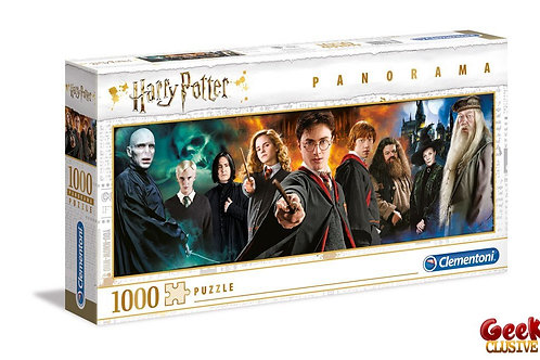 HARRY POTTER - Panorama Characters - Puzzle 1000P
