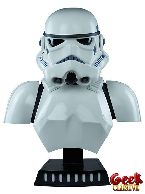 Star Wars buste 1/1 Stormtrooper 68 cm - Précommande