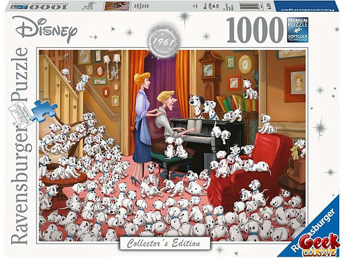 DISNEY - Puzzle Collector's Edition 1000P - 101 Dalmatiens