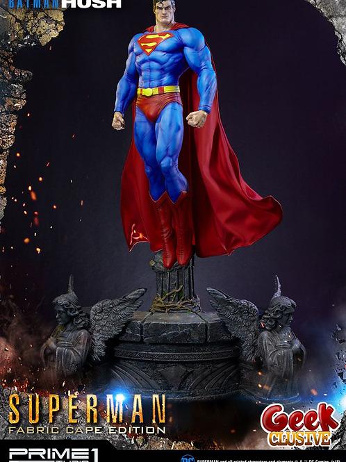 Batman Hush - statuette 1/3 Superman Fabric Cape Edition 106 cm - Précommande