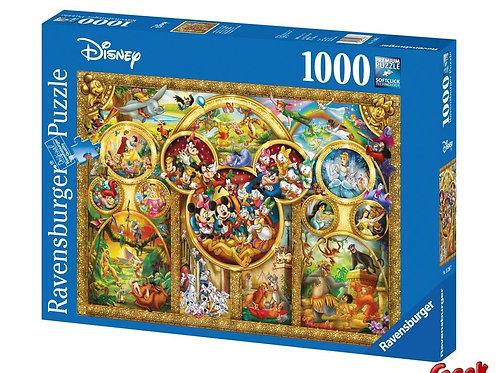 DISNEY - Puzzle 1000P - Les Plus Beaux Thèmes Disney