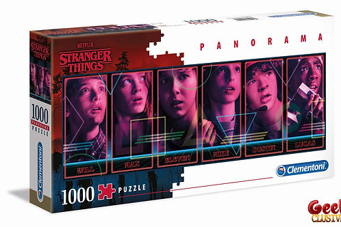 STRANGER THINGS - Panorama Characters - Puzzle 1000P