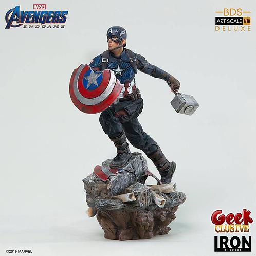 Avengers : Endgame Deluxe BDS Art Scale 1/10 Captain America - Précommande