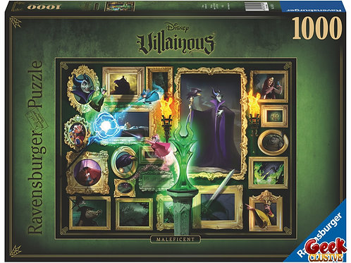 DISNEY - Malificent - Puzzle Villainous 1000 pièces