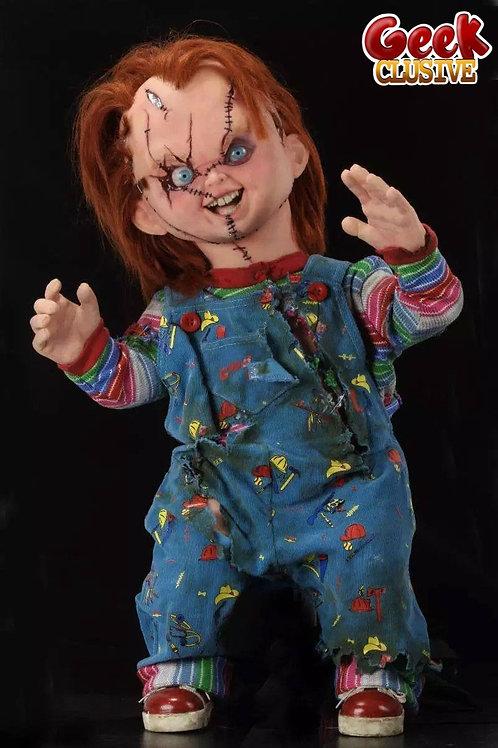 La Fiancée de Chucky réplique poupée 1/1 Chucky 76 cm - Précommande