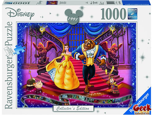 DISNEY - Puzzle Collector's Edition 1000P - The Beauty and the Beast