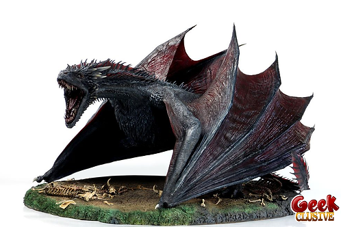 Game of Thrones - statuette 1/6 Drogon 59 x 45 x 88 cm - Précommande