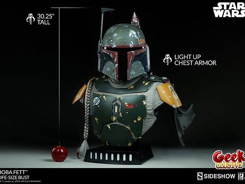 Star Wars buste 1/1 Boba Fett 77 cm - Précommande