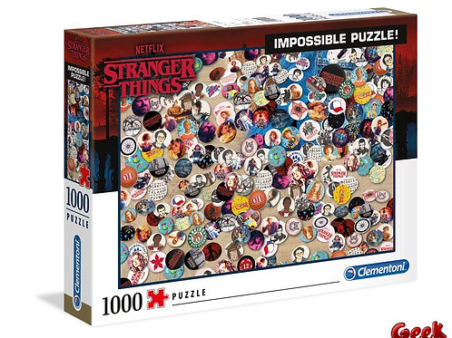 STRANGER THINGS - Impossible Buttons - Puzzle 1000P