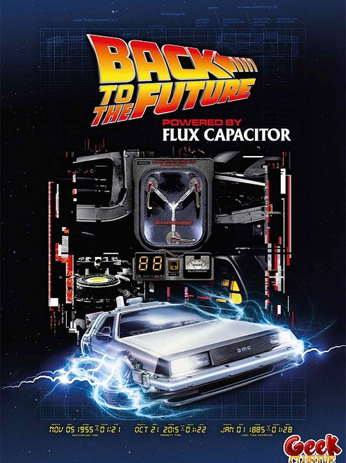 BACK TO THE FUTURE - Flux Capacitor - Puzzle 1000P