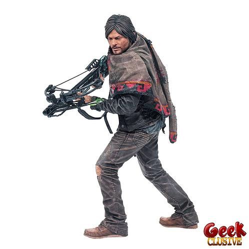 The Walking Dead figurine Deluxe Daryl Dixon 25 cm - Précommande