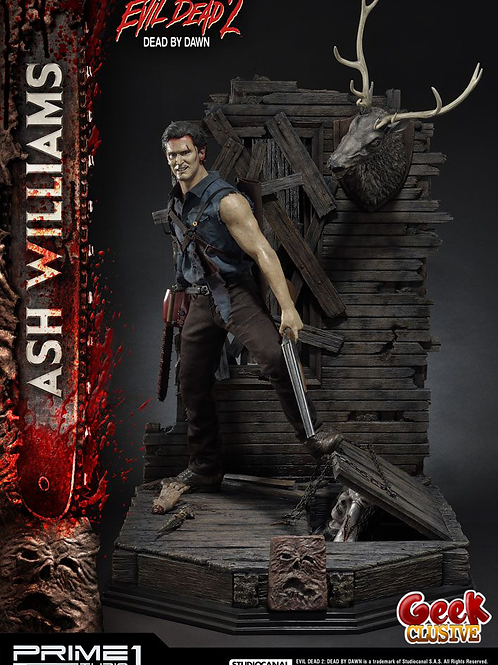 Evil Dead II statuette 1/3 Ash Williams 96 cm - Précommande