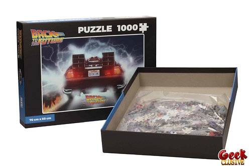 BACK TO THE FUTURE - Puzzle 1000P - Delorean Out of Time