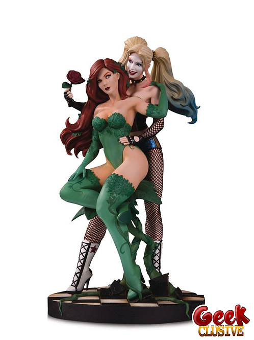 DC - Harley Quinn & Poison Ivy - by Lupacchino - 27 cm - Précommande