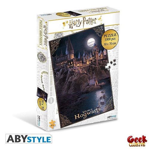 HARRY POTTER - Puzzle 1000 pièces - Poudlard