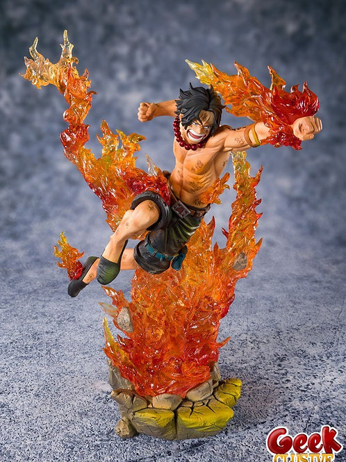 One Piece PVC FiguartsZERO Portgas D. Ace -Commander 2nd Division