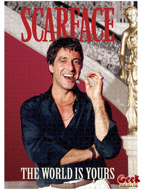 SCARFACE - The World is Yours - Puzzle 1000P