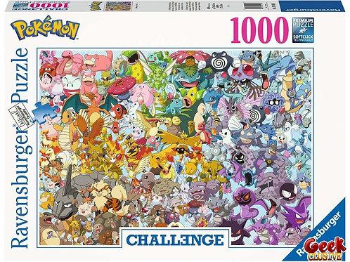 NINTENDO - Puzzle Challenge 1000P - Pokemon
