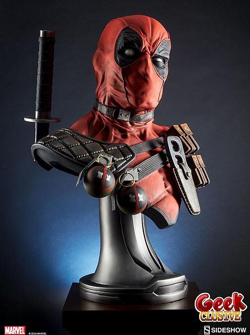 Marvel Comics buste 1/1 Deadpool 71 cm - Précommande