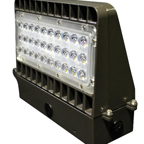 24 Watt LED Full Cutoff Wallpack 5000K DLC Listed