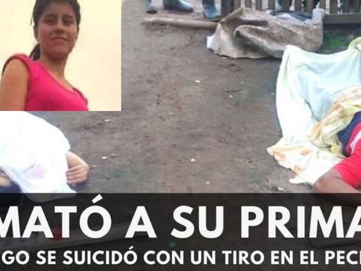 CON ARMA QUE LA MATÓ, SE DISPARÓ MORTALMENTE