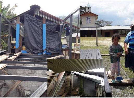 LIMÓN/USA:  MIGRANTE LE CONSTRUYE CASA A FAMILIA CUYO HIJO MURIÓ POR DESANGRE