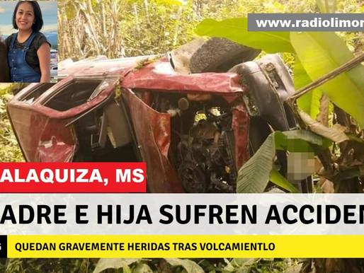 MADRE E HIJA GRAVEMENTE HERIDAS TRAS VOLCAMIENTO