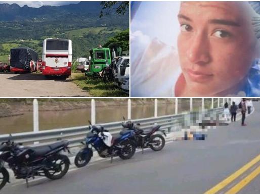 PUCARÁ:  JOVEN  MOTOCICLISTA FALLECE EN ACCIDENTE DE TRÁNSITO