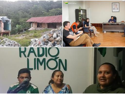 LIMÓN:  GOBERNACIÓN DE MS. JUNTO A MUNICIPIO DE LIMÓN AVANZAN EN PROCESO DE CONSTRUCCIÓN DE VIVIENDA