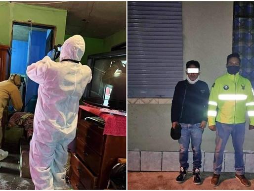 PANDEMIA DE FEMICIOS DE EMBARAZADAS EN ECUADOR: HOMBRE MATA A SU PAREJA