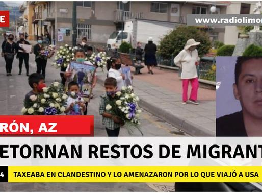 GIRÓN:  RETORNAN RESTOS DE MIGRANTE QUE BUSCÓ CUMPLIR SUEÑOS DE SU FAMILIA
