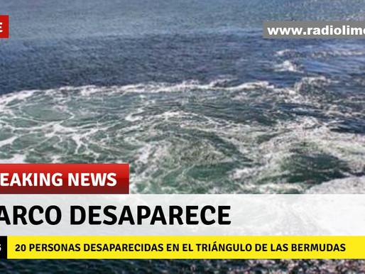 BARCO CON 20 PERSONAS DESAPARECE EN EL TRIÁNGULO DE LAS BERMUDAS