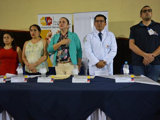MACAS:  SE IMPUSO MANDILES A INTERNOS ROTATIVOS DE MEDICINA DEL HOSPITAL GENERAL DE MACAS