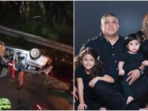 12 MUERTOS EN UNA FAMILIA AL CAER BUSETA A ABISMO