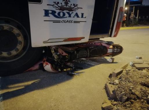 SAN JUAN BOSCO:  GRAVE ACCIDENTE DE TRÁNSITO