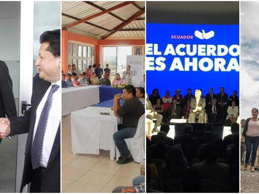 MACAS:  ACTIVIDADES DE LA GOBERNACIÓN DE MORONA SANTIAGO EN MIRAS A LA PAZ Y PROSPERIDAD