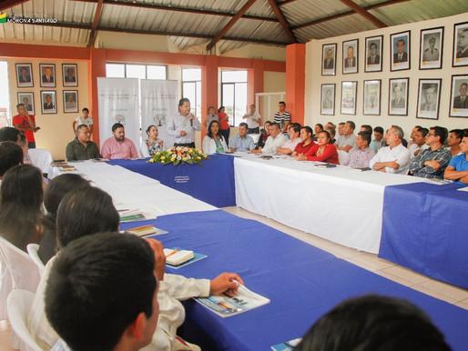 MACAS: SE SOCIALIZÓ LA LEY AMAZÓNICA A AUTORIDADES ELECTAS DE MORONA SANTIAG