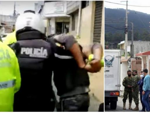EXTRANJEROS CAPTURADOS POR ASESINATO A ALTO OFICIAL DEL EJÉRCITO