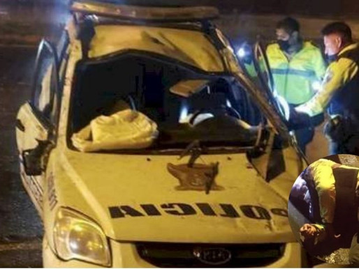 HERÓICO POLICÍA FALLECE EN PERSECUCIÓN