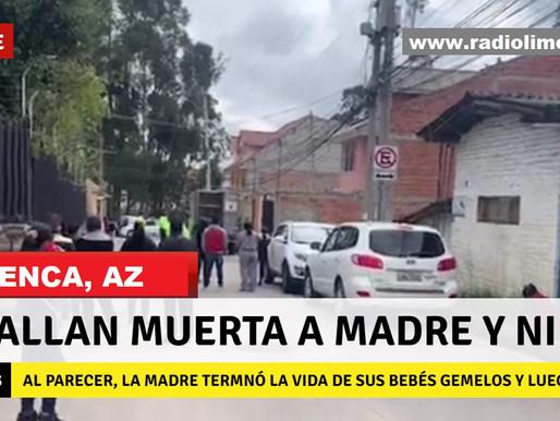 CUENCA:  MADRE HABRÍA ASESINADO GEMELOS BEBÉS ANTES DE SUICIDARSE