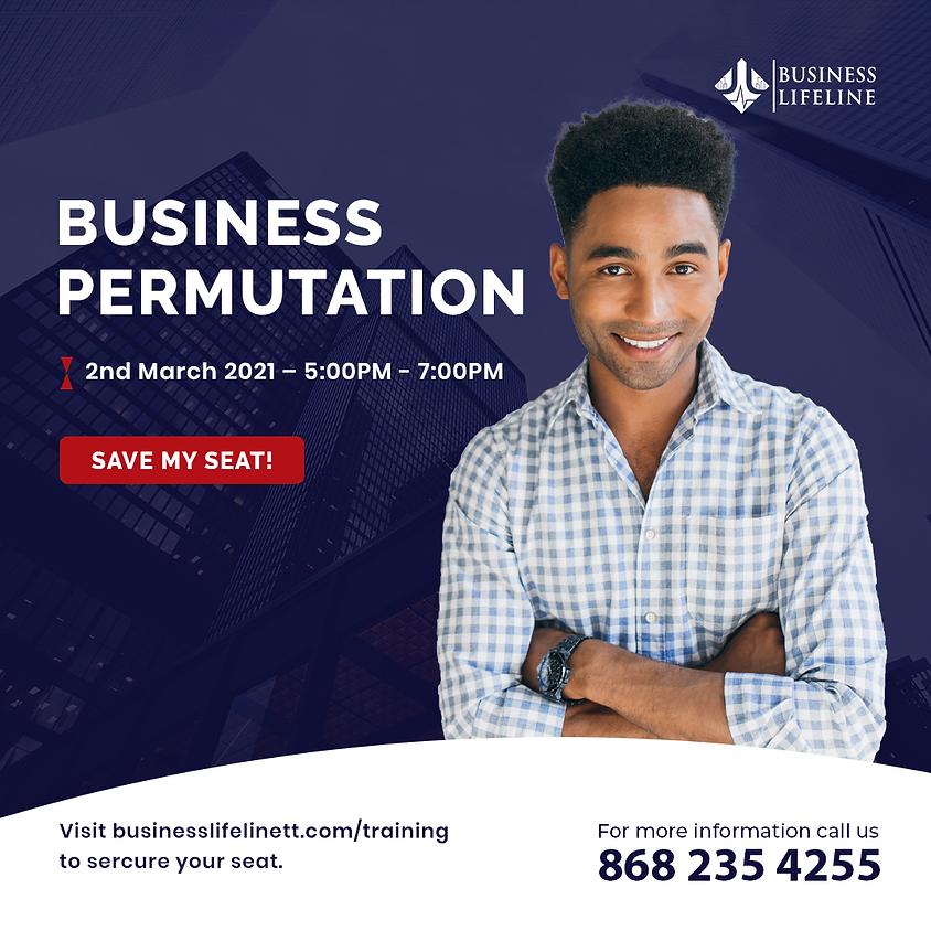 Business Permutation Program