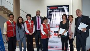 Capacitación y visitas institucionales en Arequipa, Perú