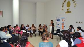 Capacitación y visitas institucionales en Piura, Perú