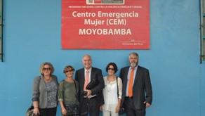 Capacitación y visitas institucionales en Moyobamba, Perú