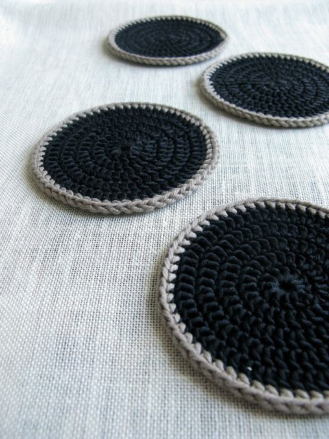 Crochet Coasters Crafternoon