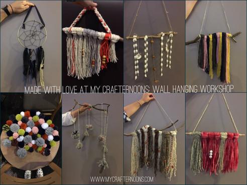 Wonderful Woolly Wall Hangings
