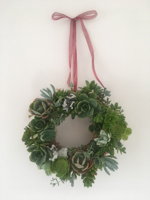 Christmas Crafternoon: Succulent Wreaths!