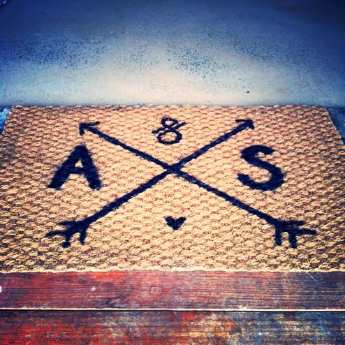 September's Crafternoon: Personalised Doormats!