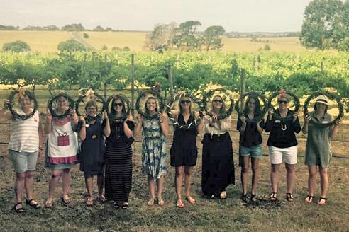 December's Crafty Vino Bus Trip and Wreath-Making Workshop