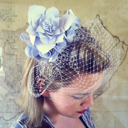 October's Craft Workshop: Paper Flower Fascinators